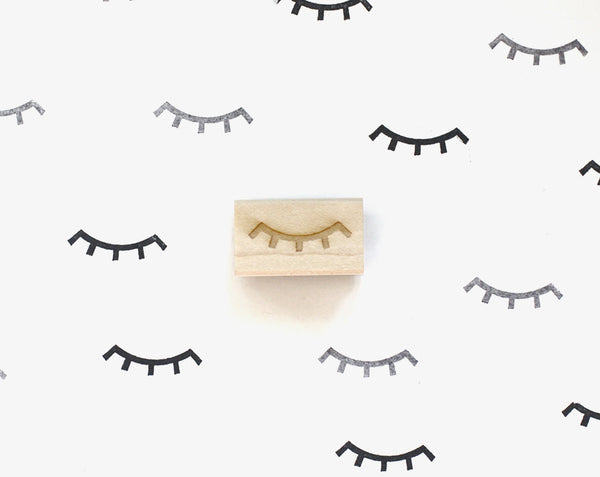 Winky Eye Rubber Stamp
