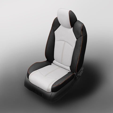 2013 - 2014 Chevrolet Traverse LT Katzkin Leather Interior (dual front driver's seat airbag, middle row buckets) (3 row)