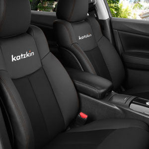 2012 - 2015 Chevrolet Cruze LS / LT Eco Sedan Katzkin Leather Interior (with slip cover front seat, with rear center armrest) (2 row)