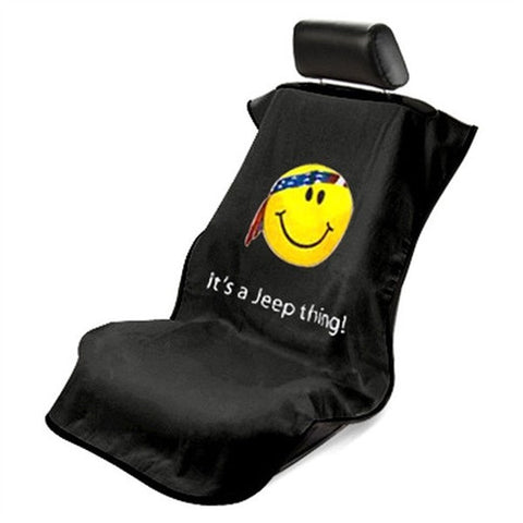 Jeep Towel Seat Protector (Smiley Face)