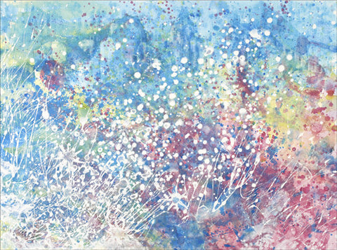 Explosions of Colour Giclee Print