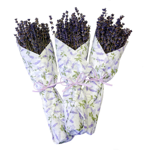 French Lavender in Tissue Paper - Set of