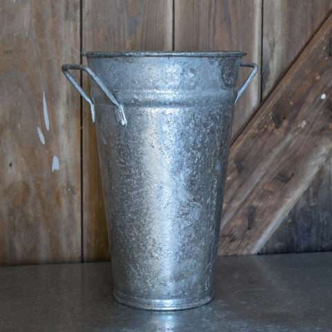 Galvanized Metal French Bucket
