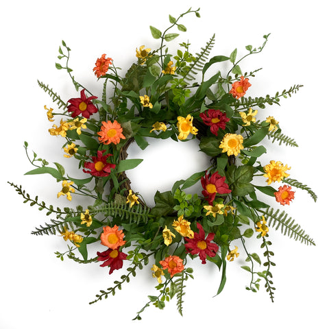 Wildflower Farm Wreath
