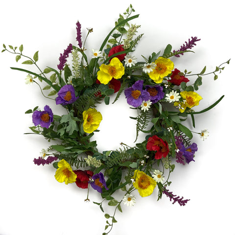 Primrose Wildflower Wreath