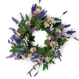 Lavender and Lilac Wreath 20 Inch 5192Q0801