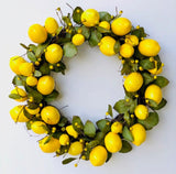 Lemon Wreath - 18 Inches - 279AG0804