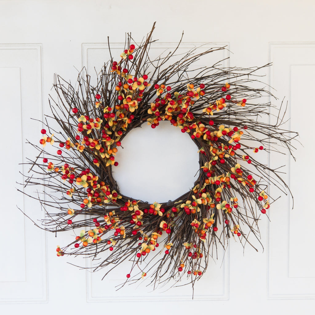 Bittersweet Wreath - 22 Inches