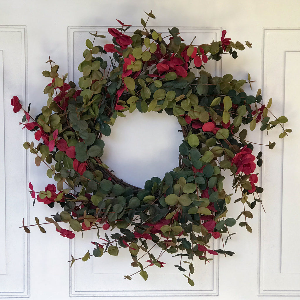 Fall Eucalyptus Wreath - 20 Inch
