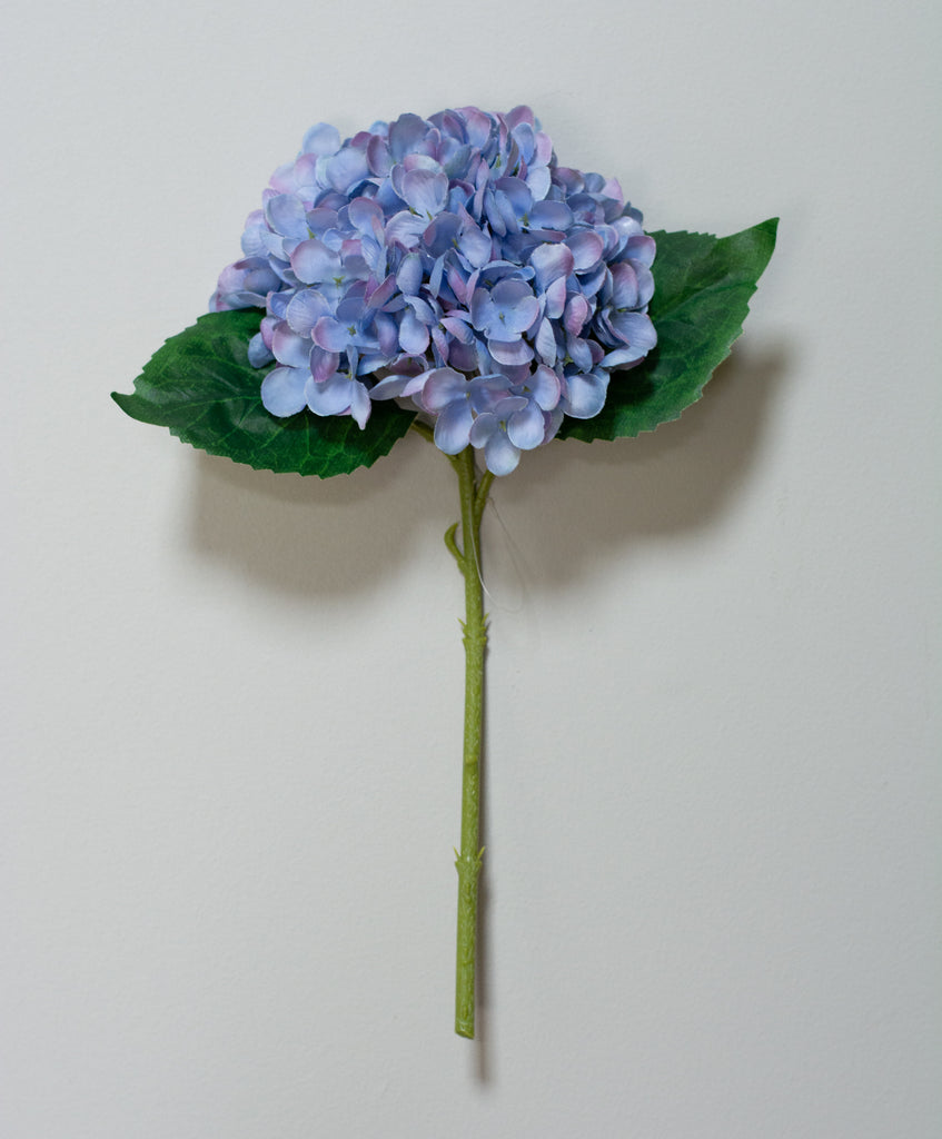 Hydrangea Stems Artificial - 13 Inch (Set of 6)