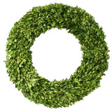Preserved Boxwood Round Wreath - 24 Inch - Bella Marie - 3