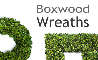 Preserved Boxwood Wreath Collection