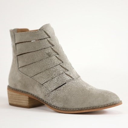 Chole Ankle Booties - Taupe