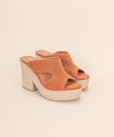 Ada Studded Wedges