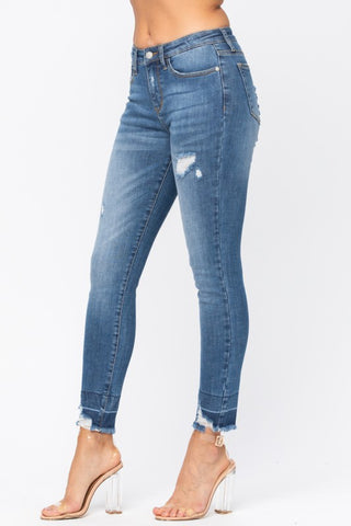Judy Blue Released Hem Jeans