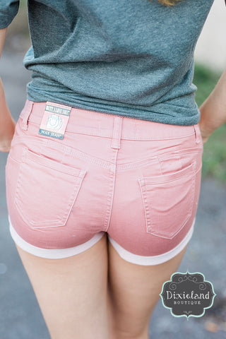 Wax Brand Shorts- Mauve