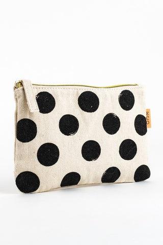 Polka Dot Make-up Bag