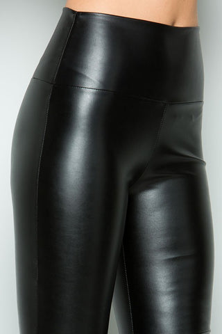 Faux Leather Patent Leggings
