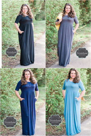 Empire Waist Maxi Dress