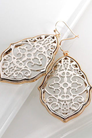 Silver Moroccan Earrings