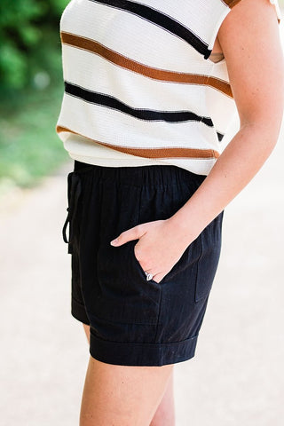The Micah Shorts - Black