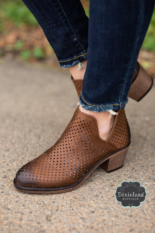 Brown Camilo Booties