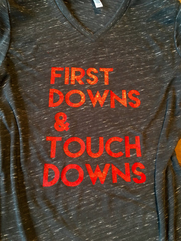 First Downs & Touch Downs Tee
