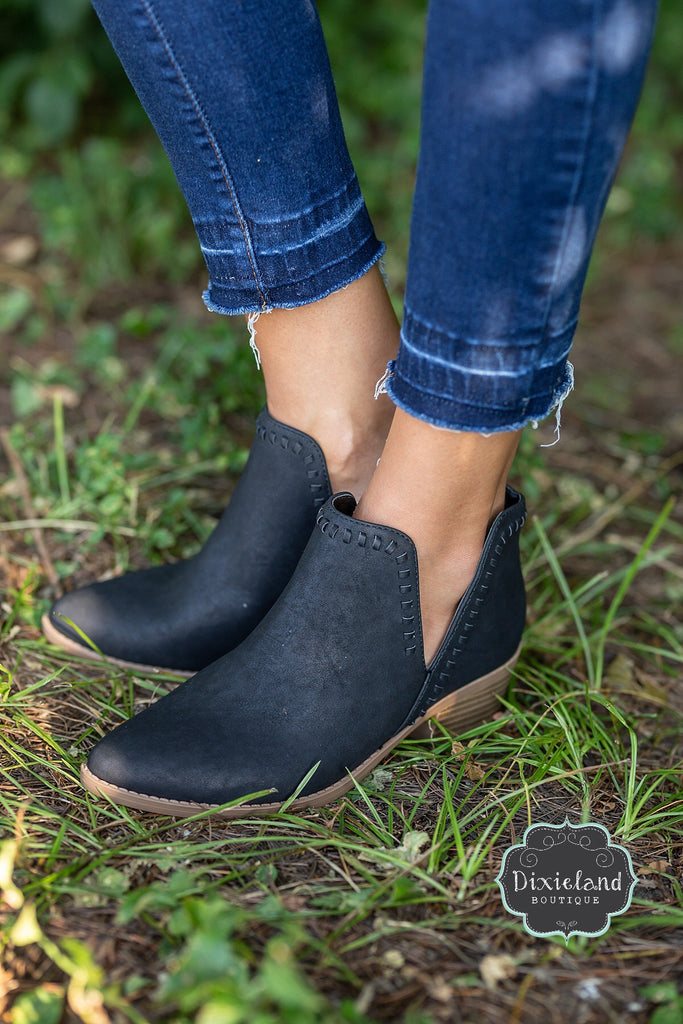 Nerys Booties in Black