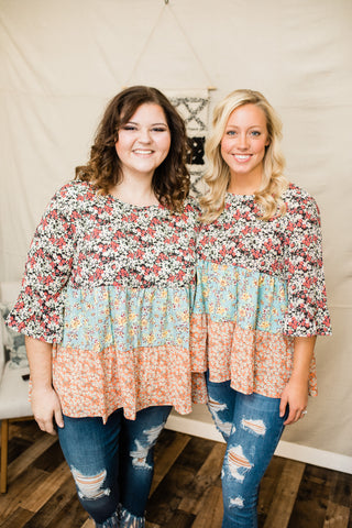 Fall Dreams Tiered Blouse