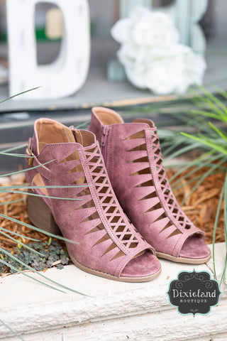 Dusty Rose Core Booties