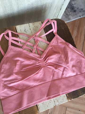 Rose Lattice Bralette
