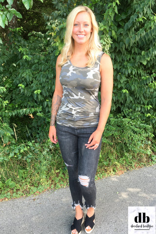 Dusty Camo Tank Top