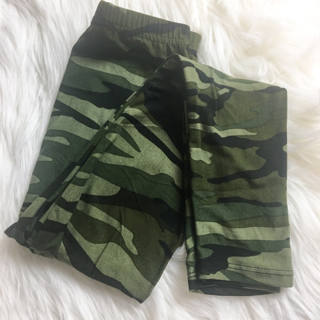 {Kids} Camo Leggings