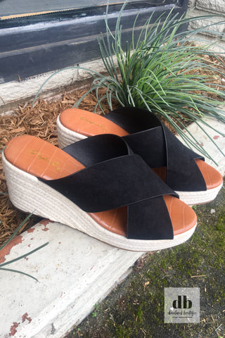 The Adisa Espadrille Wedges