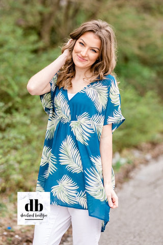 The Palms Blouse / CoverUp