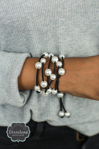 Pearl 3-in-1 Wrap Bracelet/Necklace