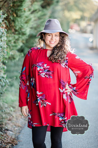 Enjoy the Journey Tunic Dress