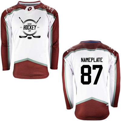 Firstar Colorado Avalanche Gamewear Pro Performance Hockey Jersey w/Custom Logo