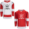 Firstar Detroit Red Wings Gamewear Pro Performance Hockey Jersey w/Custom Logo