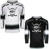 Firstar Los Angeles Kings Gamewear Pro Performance Hockey Jersey w/Custom Logo