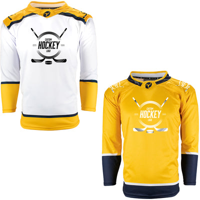 Firstar Nashville Predators Gamewear Pro Performance Hockey Jersey w/Custom Logo