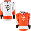 Firstar Philadelphia Flyers Gamewear Pro Performance Hockey Jersey w/Custom Logo