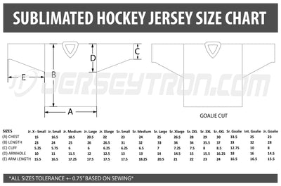 Sublimated Hockey Jersey -  Reorder