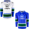 Firstar Vancouver Canucks Gamewear Pro Performance Hockey Jersey w/Custom Logo
