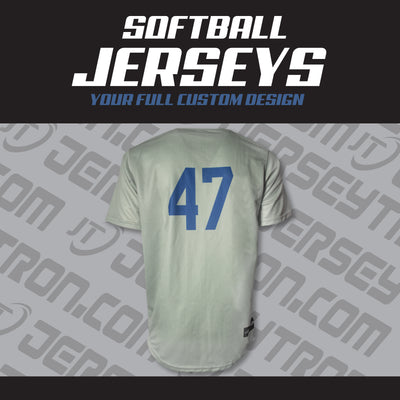SUBLIMATED SOFTBALLJERSEY - YOUR DESIGN