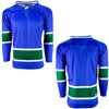 Firstar Vancouver Canucks Gamewear Pro Performance Hockey Jersey