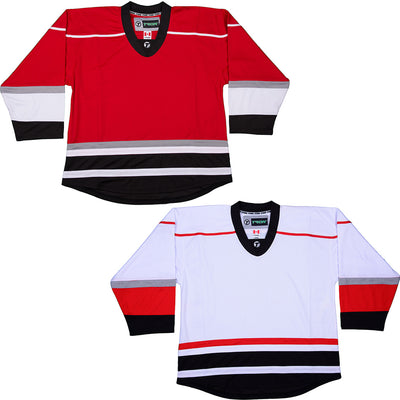 Carolina Hurricanes Hockey Jersey - TronX DJ300 Replica Gamewear