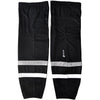 Los Angeles Kings Firstar Stadium Pro Hockey Socks (Black/Silver/Black/White)