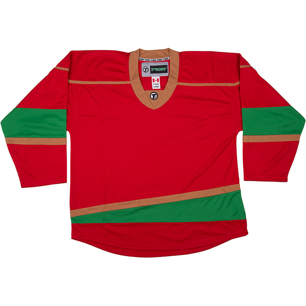 on sale 511c4 a0936 Minnesota Wild Hockey Jersey - TronX DJ300 Replica Gamewear