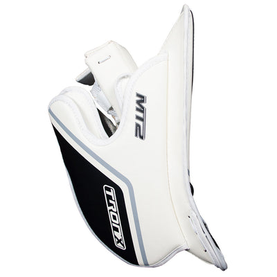 TronX MT2 Senior Hockey Goalie Blocker (White/Black)